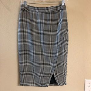 Houndstooth skirt from The Limited